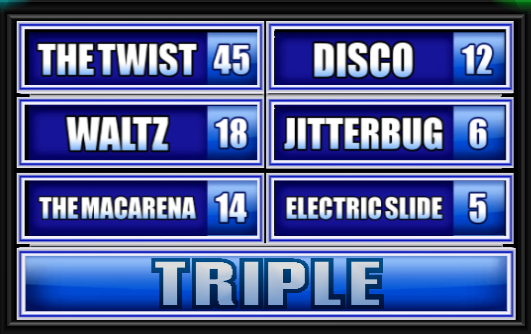 Name A Dance That Is No Longer Hip Family Feud Guide Family