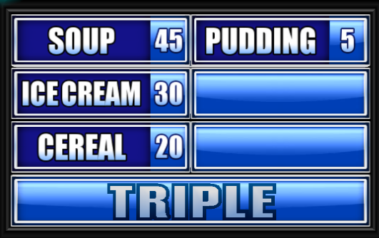 Family Feud Name A Food You Eat With A Spoon