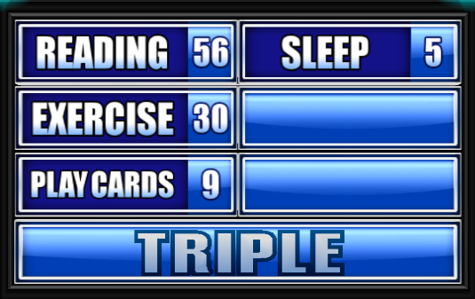 Name Something Prisoners Do To Pass The Time.   Family Feud Guide