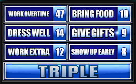 Family Feud Guide - Page 731 of 3046 - When it's time to