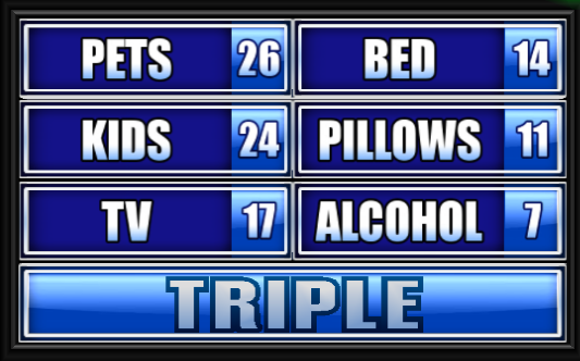 Name Something Every Child Wants For Christmas.Name Something You Wish You Could Bring To Work Family