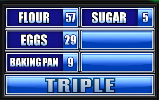 Name Something You Need To Bake A Cake Family Feud
