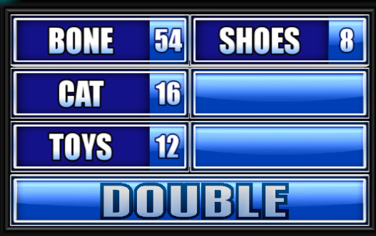 We Asked 100 People: Name Something A Dog Might Bury In A Yard.