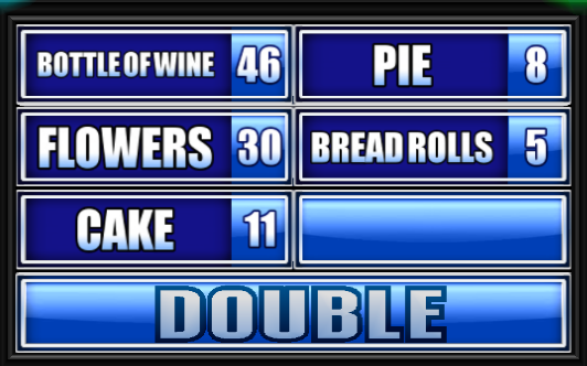 Name A Gift That Guest Might Bring To Dinner Family Feud Guide