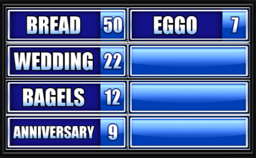 Food You Eat With A Spoon Family Feud