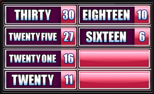 Family Feud Guide - When it's time to play